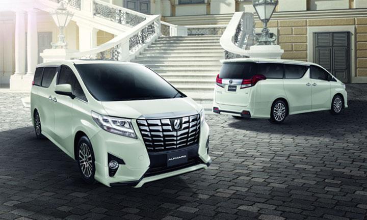 Toyota Alphard ปี 2016