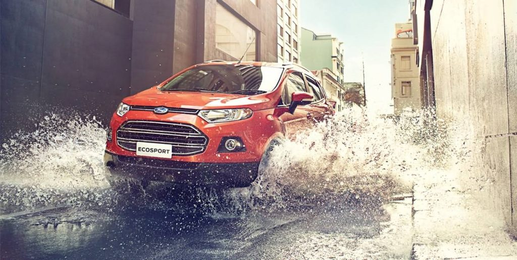 ford eco sport outside