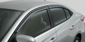 ชุดแต่ง Toyota Yaris ATIV 2017 : แผงบังแดดข้าง Side Visor