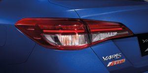 Toyota Yaris Ativ : ไฟท้ายรมดำแบบ LED