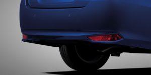 Toyota Yaris Ativ : รีเฟลคเตอร์ท้าย