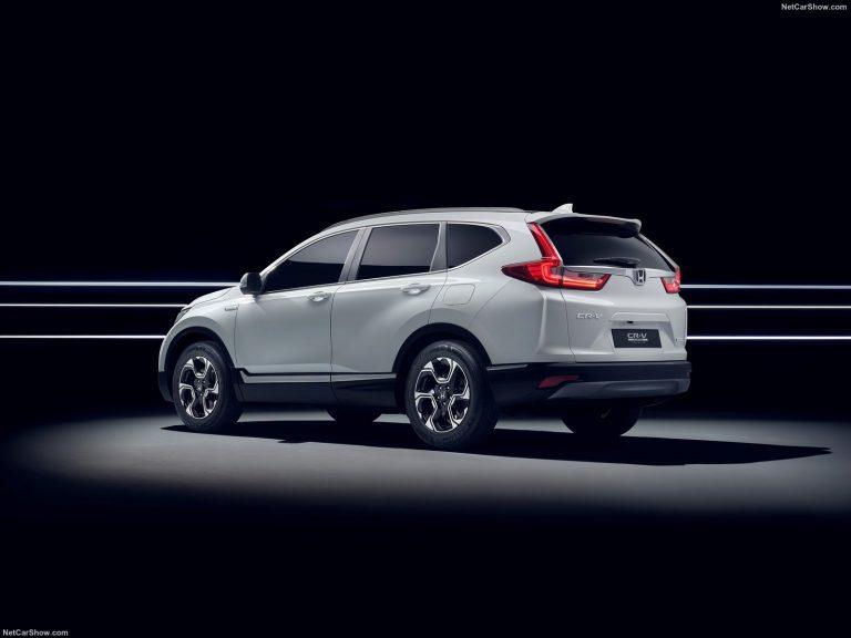 Honda CR-V Hybrid Concept 2018