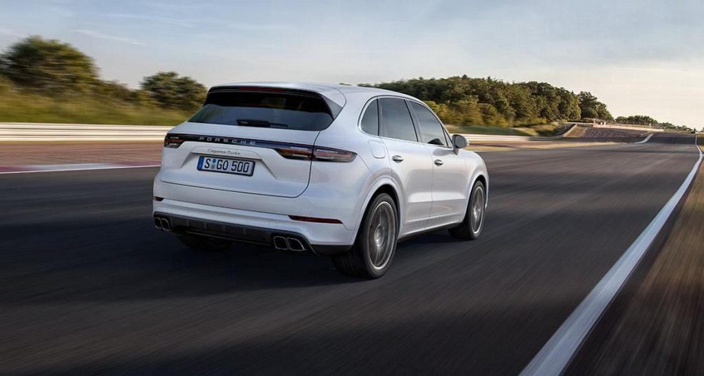 The new Porsche Cayenne Turbo