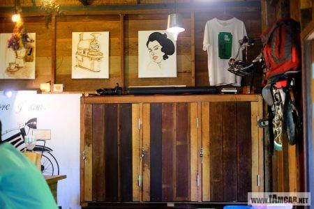 Coffee Shop in Chiang Mai / ร้านกาแฟ เชียงใหม่ บรรยากาศดี ร้านฮกหลง