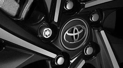รวมชุดแต่ง Accessories Part Toyota C-HR 2018 (โตโยต้า ซี-เฮชอาร์ 2018) จัดเต็มทั้งภายนอก, ภายใน และอุปกรณ์เสริมสมรรถนะ Toyota C-HR 2018 โตโยต้า ซีเฮช-อาร์ 2018 Accessories ชุดแต่ง ภายนอก ภายใน อุปกรณ์เสริม เสริมสมรรถนะ Alloy Wheel Locks น็อตล้อชนิดพิเศษที่ทั้งสวยงาม แข็งแกร่ง และทนทาน ป้องกันการโจรกรรมได้ในตัว