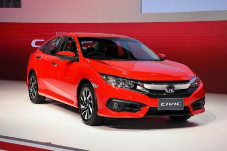 Honda Red Civic Thailand Motor Expp 2017