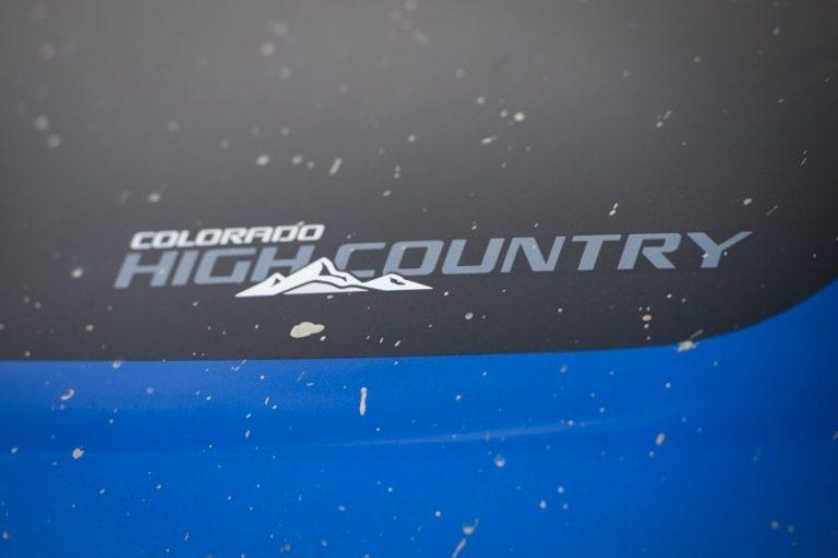Chevrolet Colorado High Country Storm 2017 เชฟโรเลต โคโลราโด ไฮ คันทรี สตอร์ม 2017