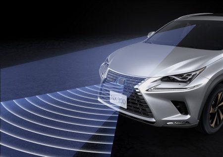 Lexus NX รุ่นปรับโฉม