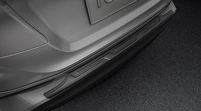 รวมชุดแต่ง Accessories Part Toyota C-HR 2018 (โตโยต้า ซี-เฮชอาร์ 2018) จัดเต็มทั้งภายนอก, ภายใน และอุปกรณ์เสริมสมรรถนะ Toyota C-HR 2018 โตโยต้า ซีเฮช-อาร์ 2018 Accessories ชุดแต่ง ภายนอก ภายใน อุปกรณ์เสริม เสริมสมรรถนะ Rear Bumper Protector แผ่นป้องกันรอยที่กันชนหลังดีไซน์สะดุดตา