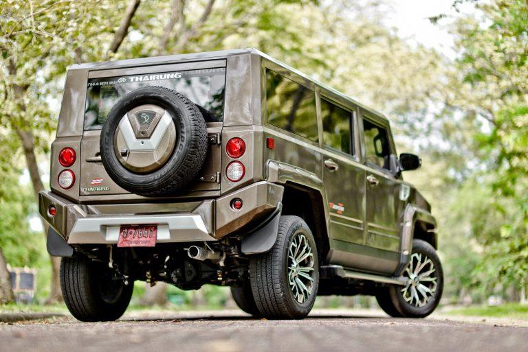 TR Transformer รถอเนกประสงค์ Limited Edition SUV รถใหม่ เปิดตัว 2018 ราคา rear view ด้านหลัง