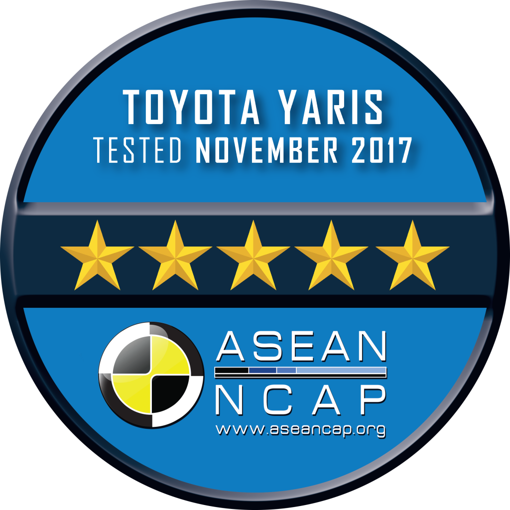 Rating Plate - Toyota Yaris