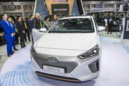 Hyundai VIP visit Booth Thailand motor expo 2017