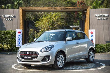 Media test drive all new Suzuki swift
