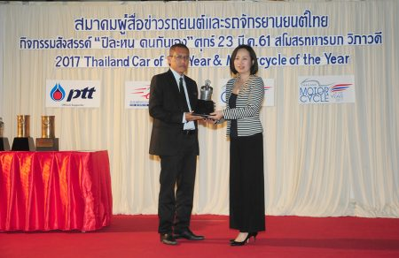 THAILAND MOTORCYCLE OF THE YEAR 2017