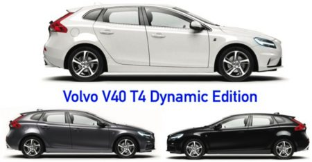 Volvo V40 T4 Dynamic Edition รุ่นใหม่ล่าสุด