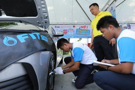 พีทีที โออาร์ ให้บริการตรวจสภาพรถยนต์ฟรี 140 แห่ง ทั่วประเทศในช่วงสงกรานต์