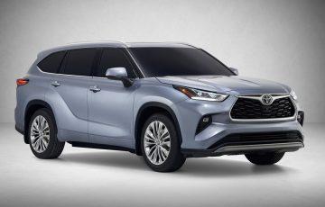 Toyota Highlander 2020 SUV 3 แถว