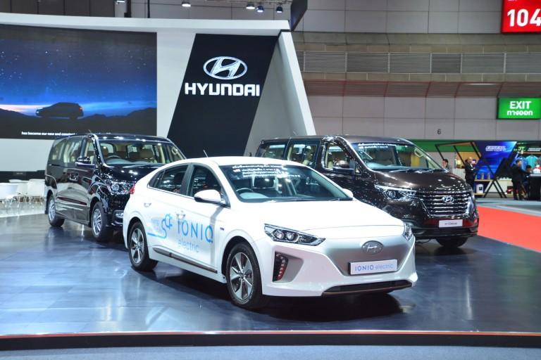 The New Hyundai H-1, IONIQ electric, KONA electric