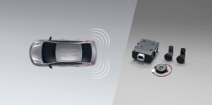 Toyota Yaris ATIV Electric : สัญญาณกะระยะถอยหลัง