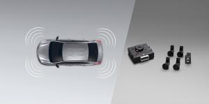 Toyota Yaris ATIV Electric : สัญญาณกะระยะมุมกันชน