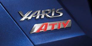 Toyota Yaris Ativ : สัญลักษณ์ ATIV