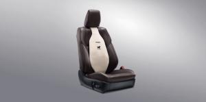 Toyota Yaris ATIV Utility : เบาะรองหลังเพื่อสุขภาพ (สีครีม/ ดำ)