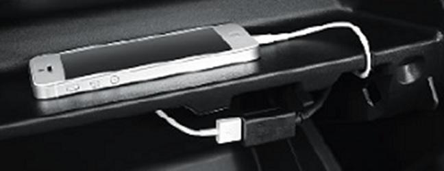 มิตซูบิชิ แอททราจ 2016 : ช่องต่ออุปกรณ์ USB ตำแหน่งใหม่