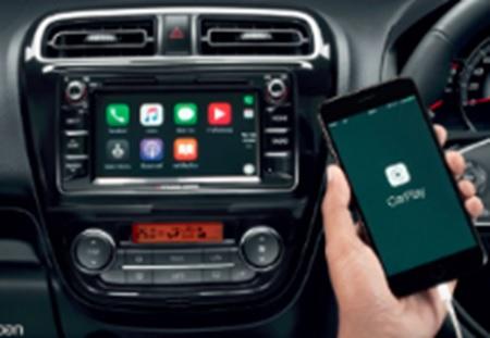 มิตซูบิชิ แอททราจ 2017 : Apple CarPlay