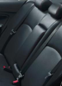 มิตซูบิชิ แอททราจ 2017 : เข็มขัดนิรภัยหลังแบบ ELR 3 จุด 3 ตำแหน่ง
