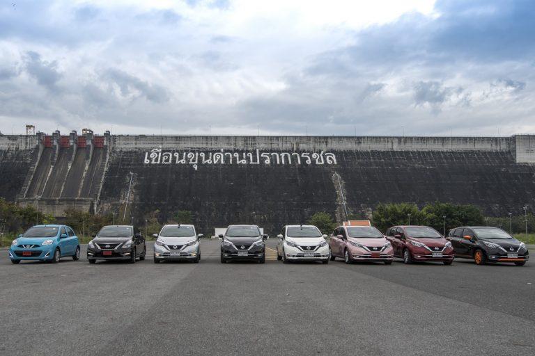 Nissan Motor Thailand นิสสัน ประเทศไทย Nissan Note Eco Car ตามรอยพ่อ พอเพียง caravan price csr