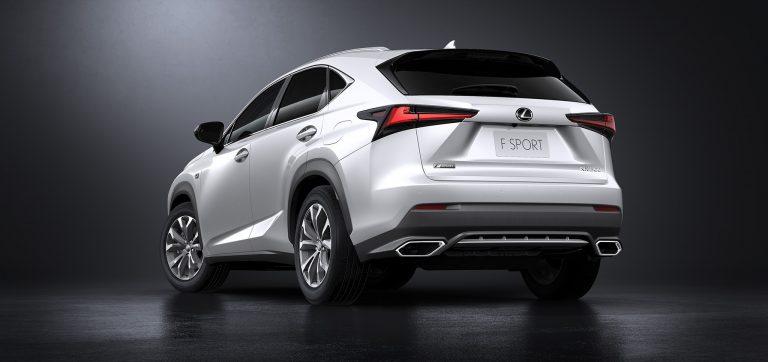 New Lexus NX 2018 เลกซัส เอ็นเอ็กซ์ ใหม่ 2018 Lexus NX เลกซัส เอ็นเอ็กซ์ Price ราคา 2018 แนะนำ รีวิว รถใหม่ รถไฟฟ้า ไฮบริด Lexus Hybrid Drive F Sport ด้านหลัง ไฟท้าย