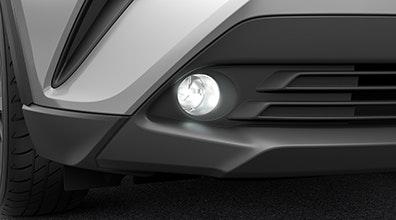 รวมชุดแต่ง Accessories Part Toyota C-HR 2018 (โตโยต้า ซี-เฮชอาร์ 2018) จัดเต็มทั้งภายนอก, ภายใน และอุปกรณ์เสริมสมรรถนะ Toyota C-HR 2018 โตโยต้า ซีเฮช-อาร์ 2018 Accessories ชุดแต่ง ภายนอก ภายใน อุปกรณ์เสริม เสริมสมรรถนะ Fog Lights ชุดไฟตัดหมอกหน้าทรงกลม