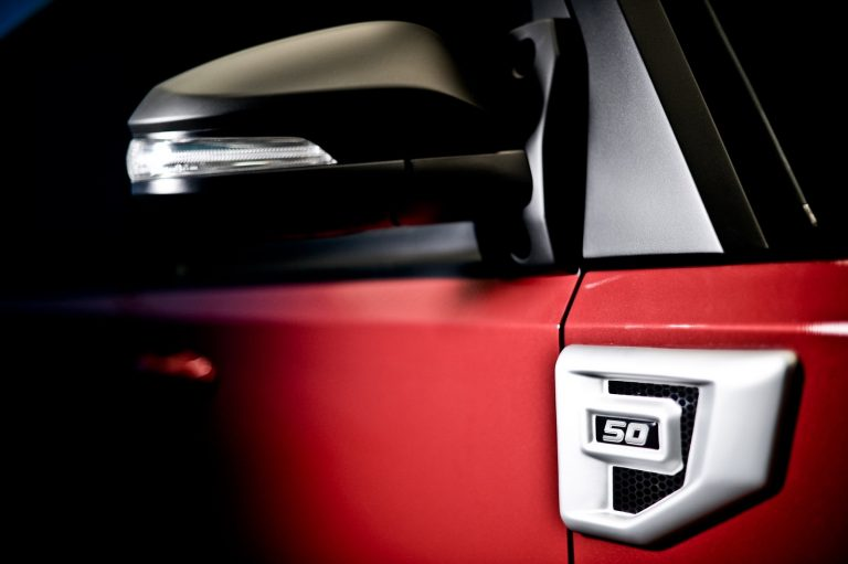 TR Transformer รถอเนกประสงค์ Limited Edition SUV รถใหม่ เปิดตัว 2018 ราคา กระจกมองข้าง