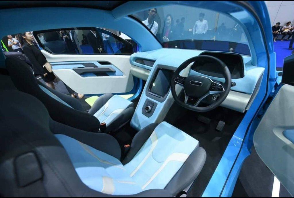 MINE Mobility รถยนต์ที่ขับเคลื่อนด้วยพลังงานไฟฟ้าเต็มรูปแบบ