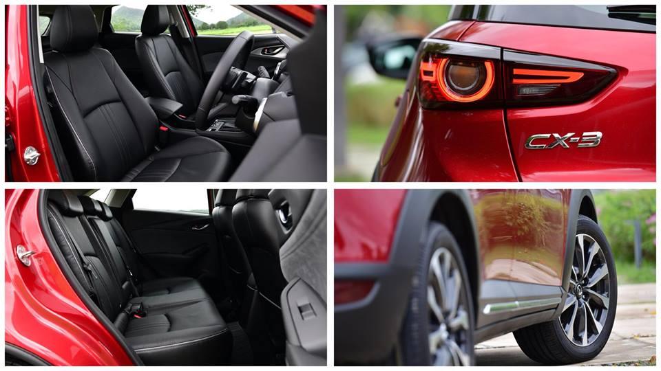 รีวิว ทดสอบรถยนต์ New Mazda CX-3 Collection 2018