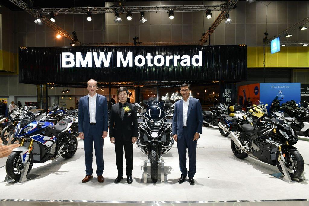 บีเอ็มดับเบิลยู มอเตอร์ราดจัดทัพรถมอเตอร์ไซค์ อวดโฉมในงานBig Motor Sale 2018