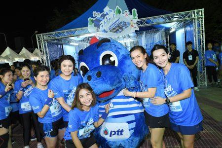 """PTT Blue Cardวิ่งส่งความสุข"""