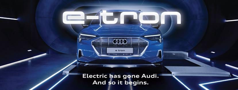อาวดี้ประเทศไทย เปิดตัว Audi e-tron ยนตรกรรมพรีเมียมพลังไฟฟ้า 100 %