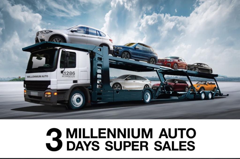 มิลเลนเนียม ออโต้ '3 Days Super Sales'