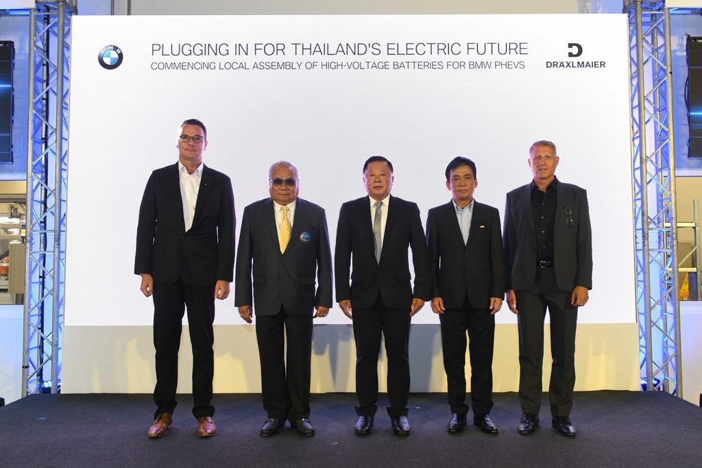 บีเอ็มดับเบิลยู กรุ๊ป ประเทศไทย เดินหน้าประกอบแบตเตอรี่แรงดันสูงในประเทศไทย