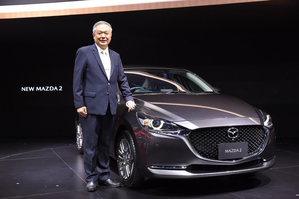 มาสด้าส่ง New Mazda2 ลงสมรภูมิตลาดรถยนต์นั่งซิตี้คาร์
